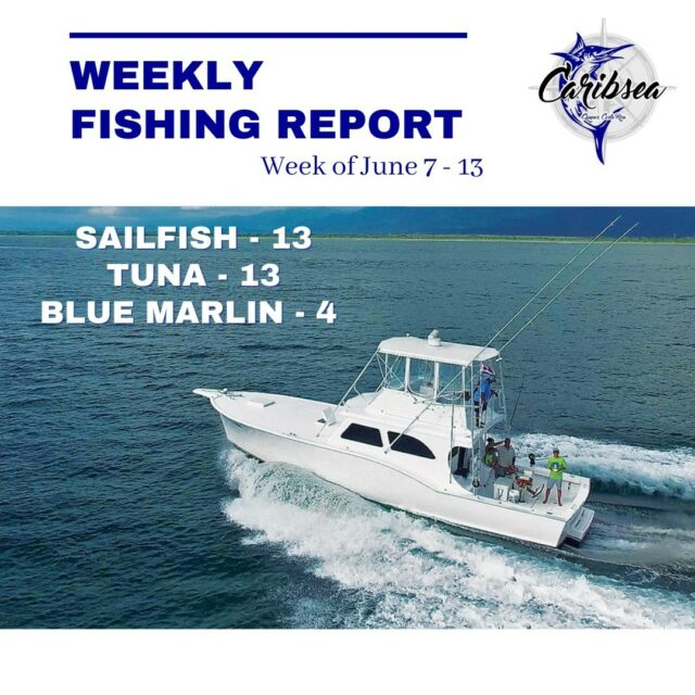 Come fish the beautiful waters of Costa Rica with us here on Caribsea. 🤙  👉 Send us a message or email reservations@caribseasportfishing.com for more details on our charter options.  #caribseasportfishing #fishingcostarica #marinapezvela #fishingreport